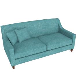 Halston 3 Seater Sofa, Aqua