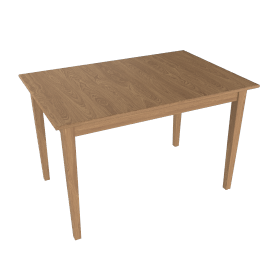 John Lewis Lacock 4-6 Seater Rectangular Extending Dining Table