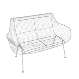 Sculptura Bench, Grey