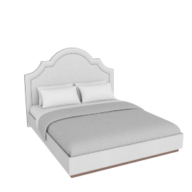 Myra King Bed - 180x210 cms