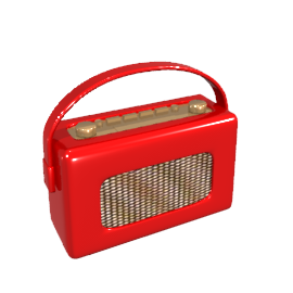 Roberts RD60 DAB Digital Radio, Red