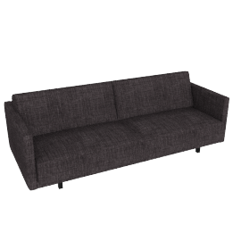 Tuck Sleeper Sofa, Ink, Crepe Linen