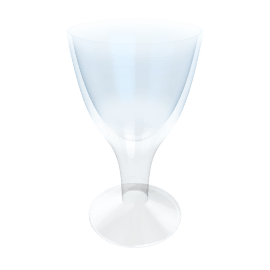 Biarritz Wine Glass, Sapphire