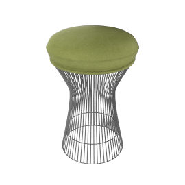 Platner Stool - Leather