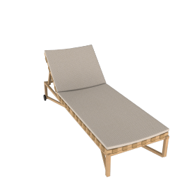 Rusa - Adjustable Chaise Lounge - Teak