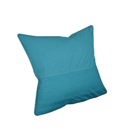 Eternity Cushion Cover - 65x65 cms, Blue