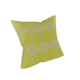 Neon Geometry Cushion Cover - 45x45 cms
