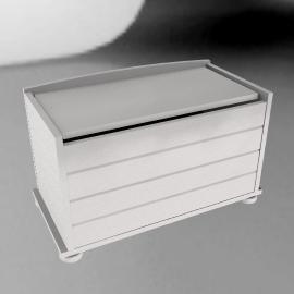 Malmö Blanket Box, White