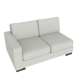 Signature 2 Seater with Left Arm, Dove