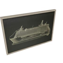 Voyage Framed Art - 100x4.7x70 cms