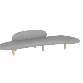 Noguchi Free Form Sofa