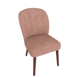 Margot Dining Chairs, Dusk Pink