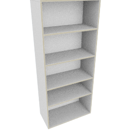 Toronto 5-Shelf Bookcase