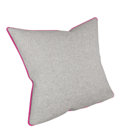 Sabre Cushion, Coral