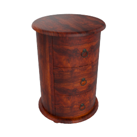 Maharani Drum Side Table