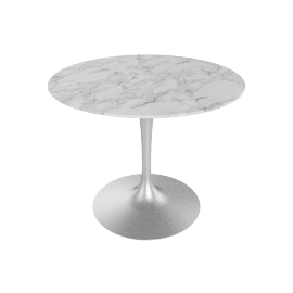 Saarinen Round Dining Table 35'', WhiteExtra - Plt.WhiteExtra