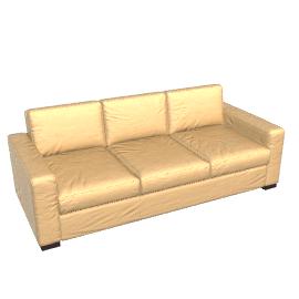 Portola Sofa - 84 in. - Leather