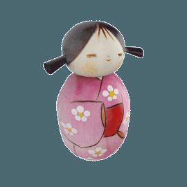 Kokeshi Wooden Doll, Haruyokoi (Springtime)