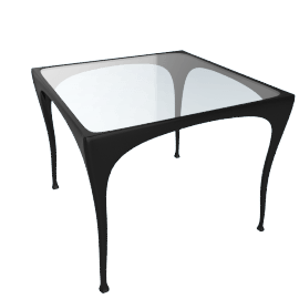 Sol y Luna Dining Table, Square