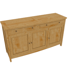 John Lewis Burford 2-drawer Sideboard3 doors