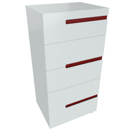Aubrey 5-Drawer Chest