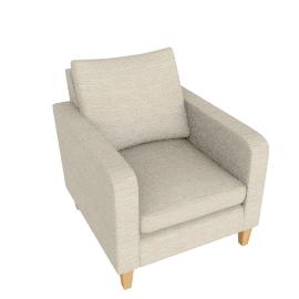 Bailey Armchair, Milton Putty