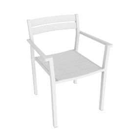 Eos Armchair - White