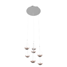 Sebastian 7 Light Drop Ceiling Light