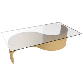 Gemini Wave Coffee Table