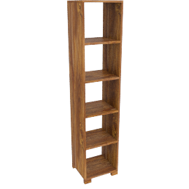 Stowaway Single Bookcases , Unfinished