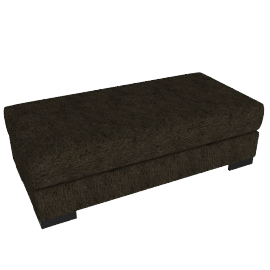 Signature Storage Ottoman, Brown