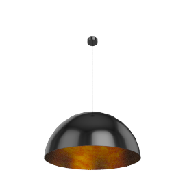Absinthe Kuba ø70cm, black/gold