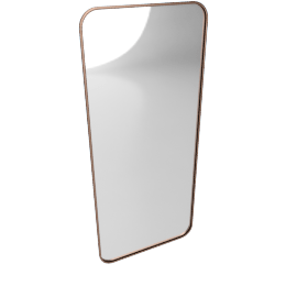 Alana Extra Large Leaning Mirror, Copper