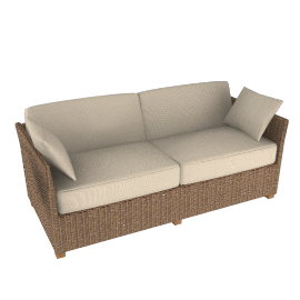 Nomad Small Sofa, Sand
