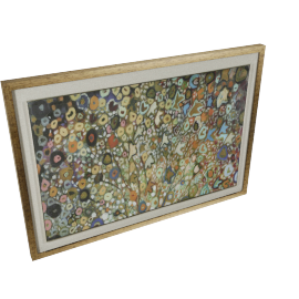 Spring Expose Framed Print - 70x3.5x110 cms