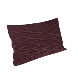 Velvet Ripple Cushion, Fig