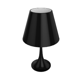 Miss K Table Lamp - Black - by Flos