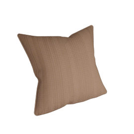 Eternity Cushion Cover - 45x45 cms, Brown