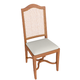 Hemingway Cane Back Dining Chair