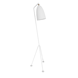 Grasshopper Floor Lamp, Matte White
