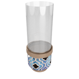 Fairuz Decorative Vase - 24x36 cms