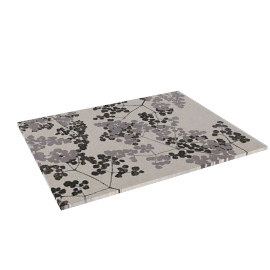 Blossom Placemat, Grey