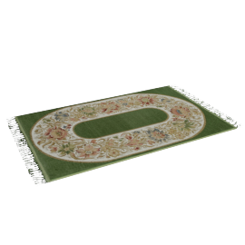 Prayer Mat - 70x120 cms, Green
