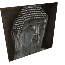 Buddha Oil Painting - 80x2.8x80 cms