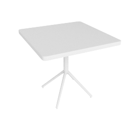 Grace Folding Table, White