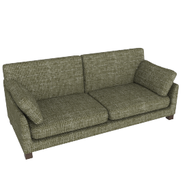 Ikon Grand Sofa, Stanton Putty