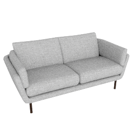 Loki Large Sofa, Arden Blue Grey