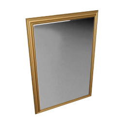 John Lewis Oscar Mirror, Gilt, 102 x 71cm