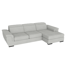 Raymond Right Corner Sofa, Grey