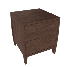 John Lewis Asuka 2-drawer Bedside Table